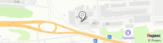 Малярка на карте Новосибирска