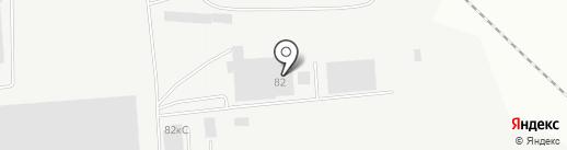 Сервис Плюс на карте Новосибирска