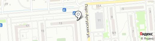 Магазин на карте Новосибирска