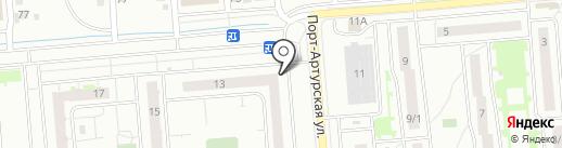 Абаканские полуфабрикаты на карте Новосибирска