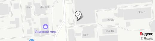 ПМК на карте Новосибирска