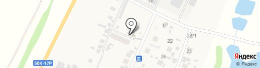 Продовольственный магазин на карте 8 Марта