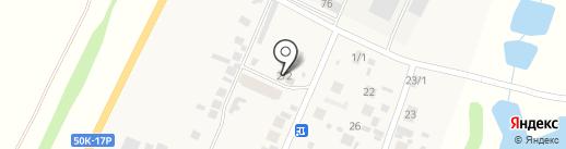 Хозяйственный магазин на ул. Мира на карте 8 Марта
