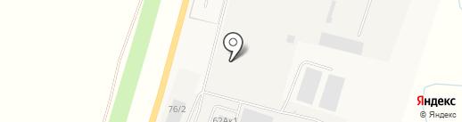 РБУ Микс-бетон на карте 8 Марта