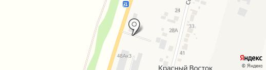 Шиномонтажная мастерская на Советской на карте Красного Востока