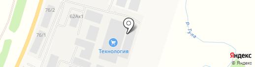 АзимутТранс-Сиб на карте Красного Востока