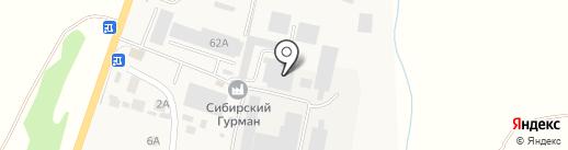 Автосила и К на карте Красного Востока