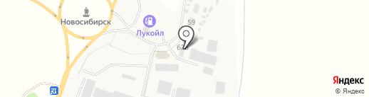 Стелла на карте Красного Востока