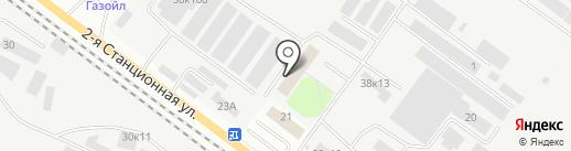Магазин онлайн туров на карте Новосибирска