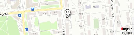 Абсолют Принт на карте Новосибирска