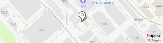 Первая мучная компания на карте Новосибирска
