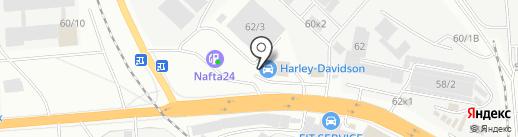 ОБЩЕСТРОЙ на карте Новосибирска