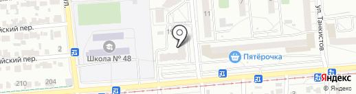 Алайт на карте Новосибирска
