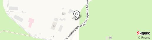Новосибирский областной геронтологический центр на карте Мочища
