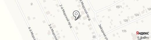 Обская Ривьера на карте Ленинского