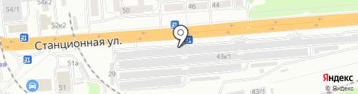 МеталлКом на карте Новосибирска