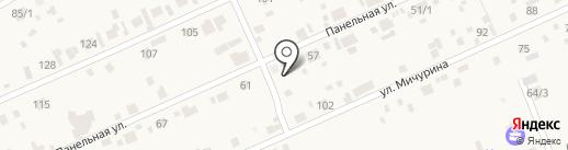 Продуктовый магазин на Панельной на карте Ленинского