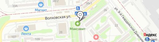Сакура Суши на карте Новосибирска
