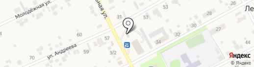 Продуктовый магазин на Школьной на карте Ленинского