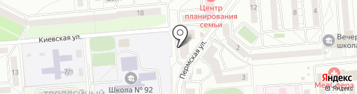 LEDcaster на карте Новосибирска