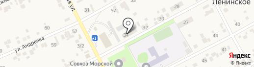 Деревенский дворик на карте Ленинского