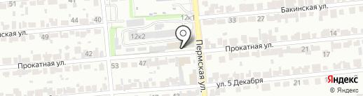 БЕРЕЗКА на карте Новосибирска