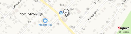 АВС на карте Мочища