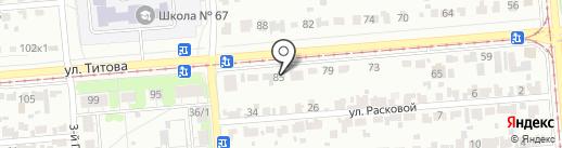 ОГО`РОД на карте Новосибирска