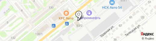 Аймикс Сервис на карте Новосибирска