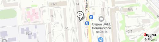 PANDA BEBY на карте Новосибирска