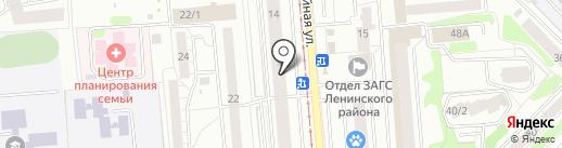 Kruger Haus на карте Новосибирска