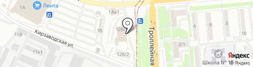 Авто-Дубли на карте Новосибирска