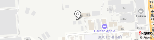 Партнёр-Про на карте Новосибирска