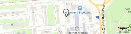 Энергоцентр, ЧОУ ДПО на карте Новосибирска