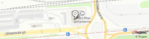 Апельсин на карте Новосибирска