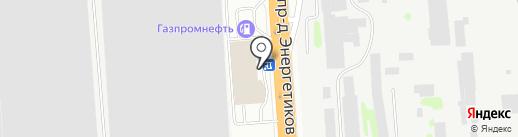 Автомир Богемия Новосибирск на карте Новосибирска