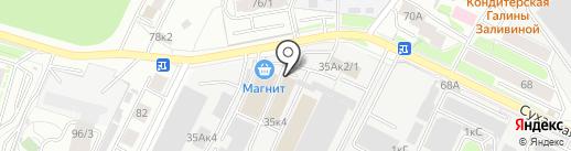Альянс Строй Компания плюс на карте Новосибирска