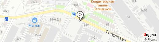 А-Ля на карте Новосибирска