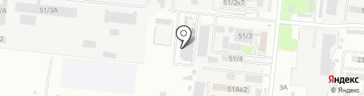 Завод РТИ на карте Новосибирска