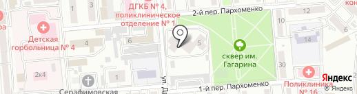 СТИМУЛ, АНО на карте Новосибирска