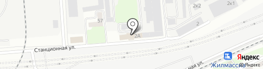 Твердый знак на карте Новосибирска