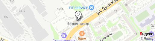 ЛюкСтрой.рф на карте Новосибирска