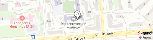 VolleyPlace на карте Новосибирска