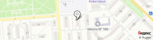 Новосибирский центр профилактики на карте Новосибирска