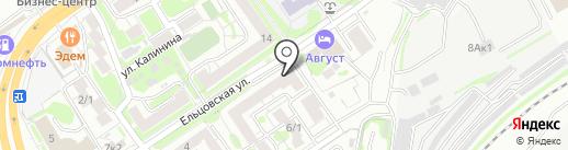 Правовой навигатор на карте Новосибирска