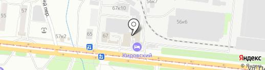 Автокомплекс 54 на карте Новосибирска