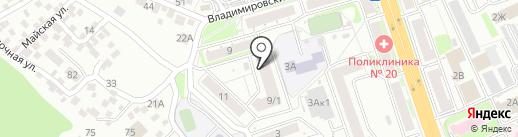 Оконный мастер на карте Новосибирска
