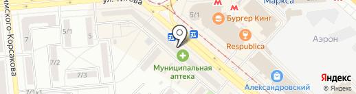 YOda на карте Новосибирска