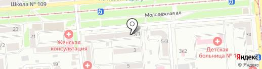 ЗдравСити на карте Новосибирска