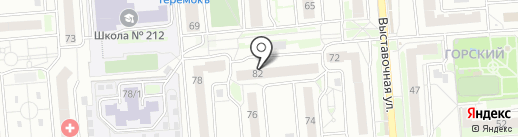ПилиПенку на карте Новосибирска